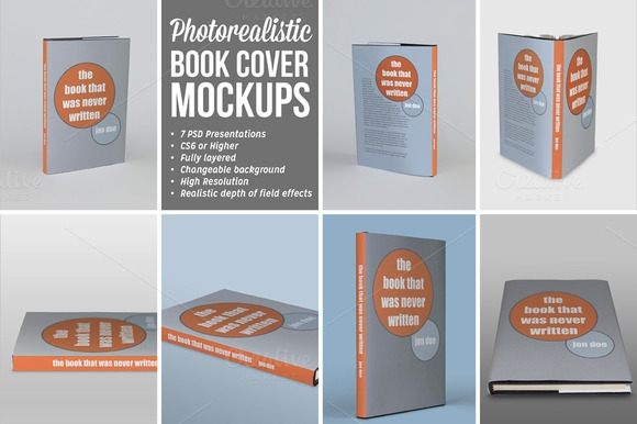 photorealistic book cover mockups 1 mockup store