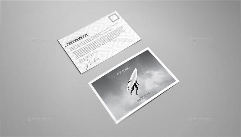 postcard invitation flyer mock up sreda graphicriver