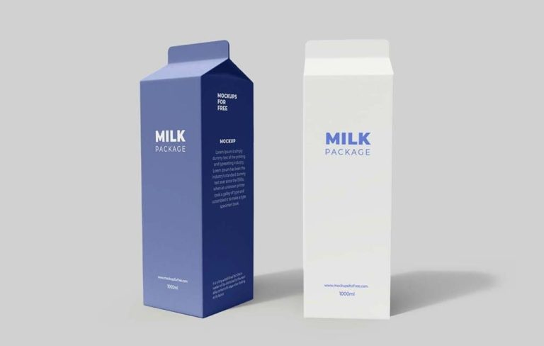 tetra pack packaging mockup mockups for free