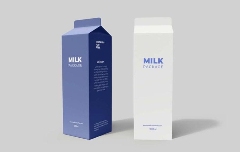 tetra pack packaging mockup mockups for free