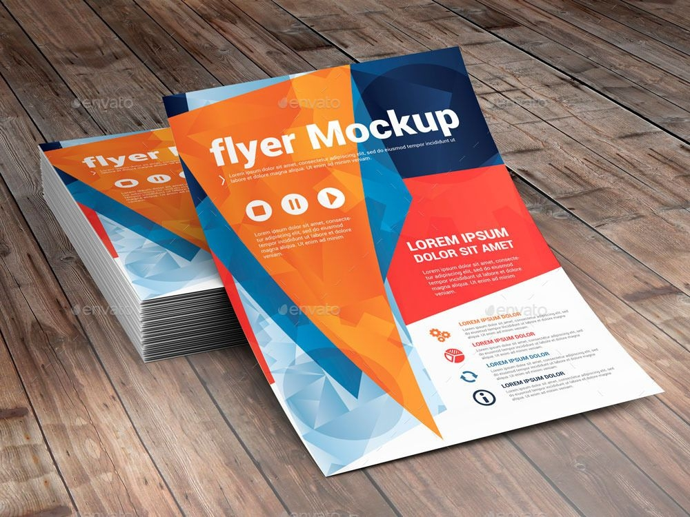 100 best psd flyer mockup designs free premium downloads