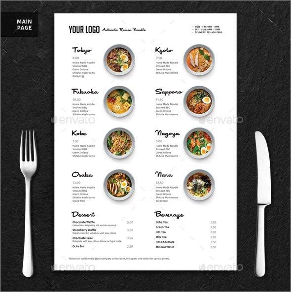 100 fabulous photo realistic restaurant menu mockups graphic