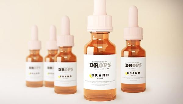 50dropper bottle mockups free premium download i templateupdates