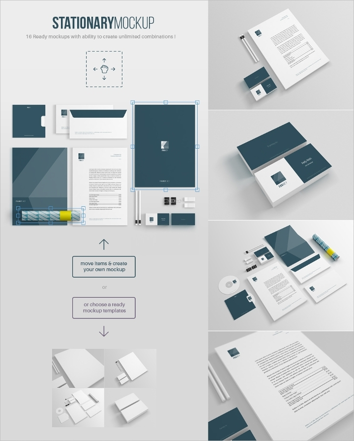 67 free mock up design templates editable psd format free