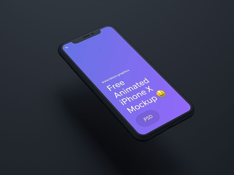 animated iphone x mockup psd free download free iphone mockup psd