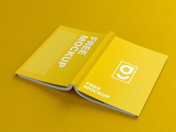 book mockups free mockup