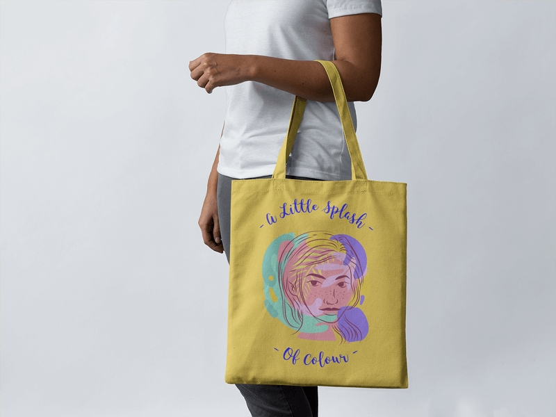 create a tote bag mockup placeit
