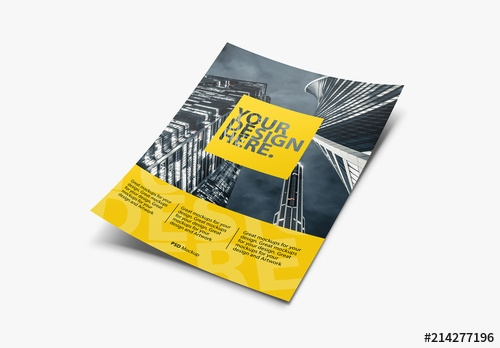 dynamic flyer mockup buy this stock template and explore similar
