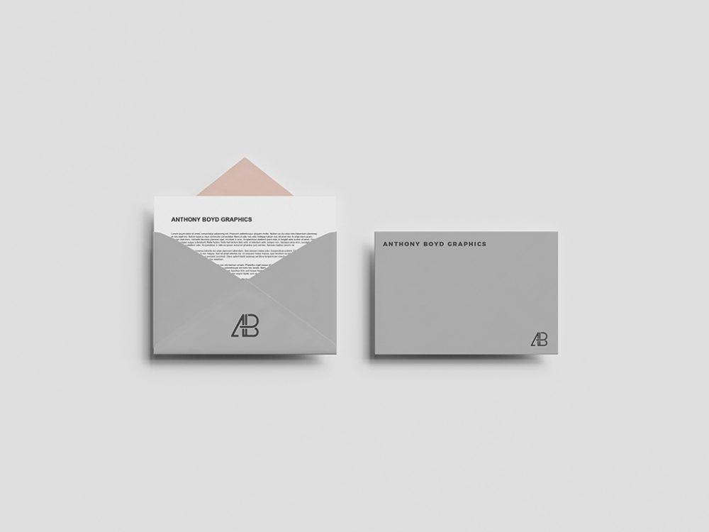 envelope mockupworld