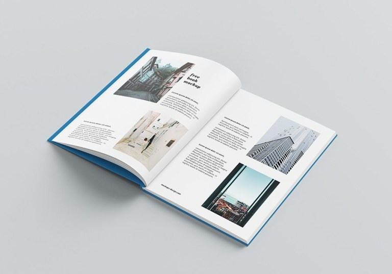 free a4 hardcover book mockup free book mockups