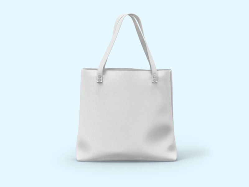free canvas bag mockup free mockup