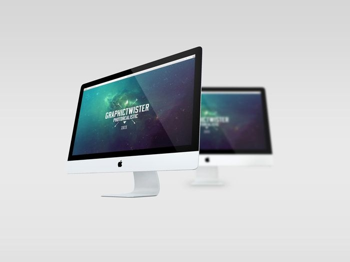 free double imac mockup 641 mb graphic twister mock ups new