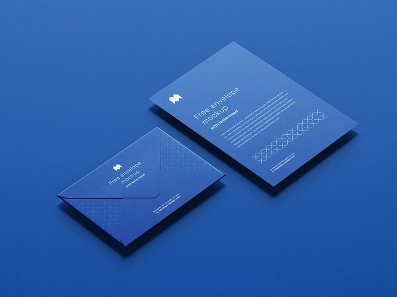 free envelope mockup mockups design free premium mockups