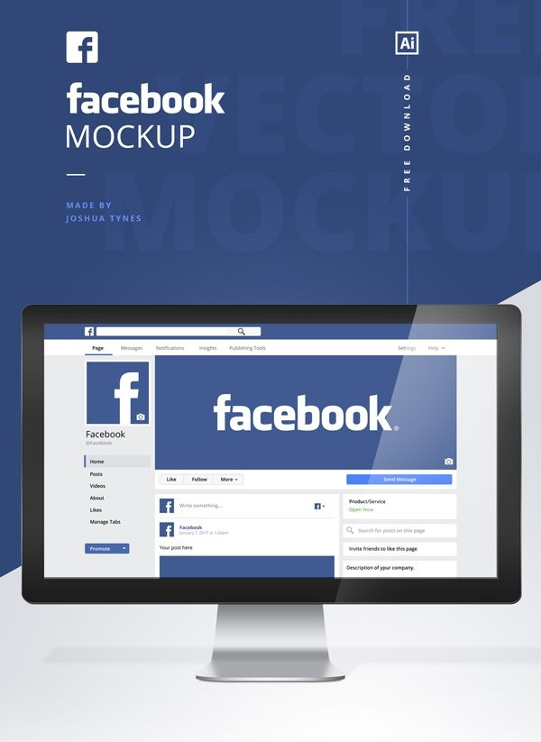 free facebook mockup psd template freepsdfiles freepsdmockups
