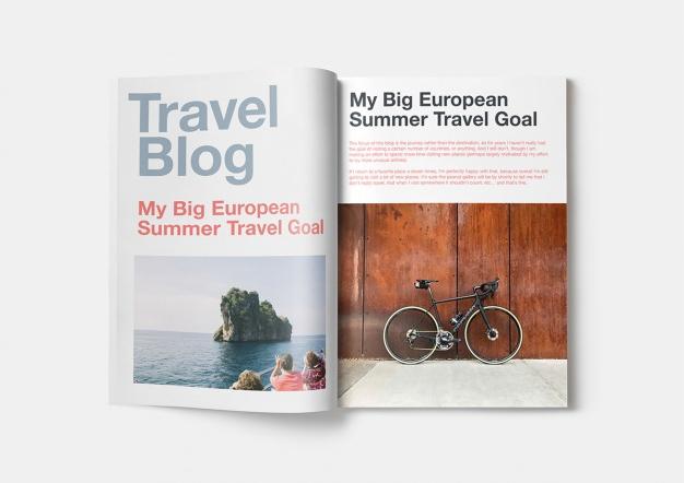 free magazine mockup psd the graphic mac