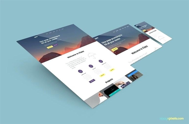 free screens website template planet misocial psd mockup
