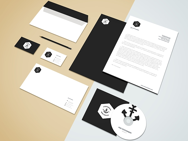 freebie brandingstationery mockup on behance