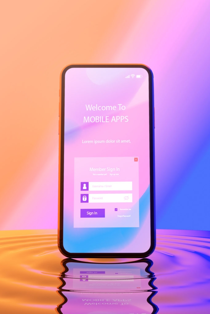 freebie psd mockups of iphone samsung phones in liquid just