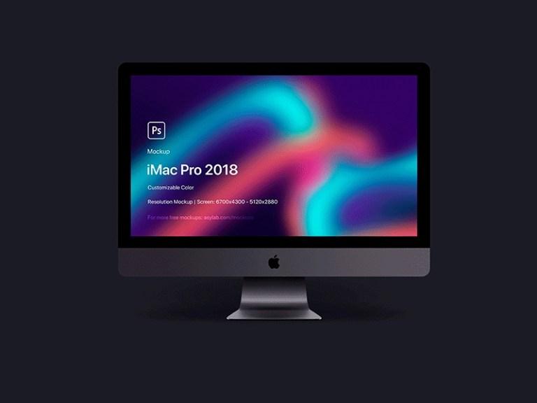 imac pro 2018 5k mockup free psd template psd repo