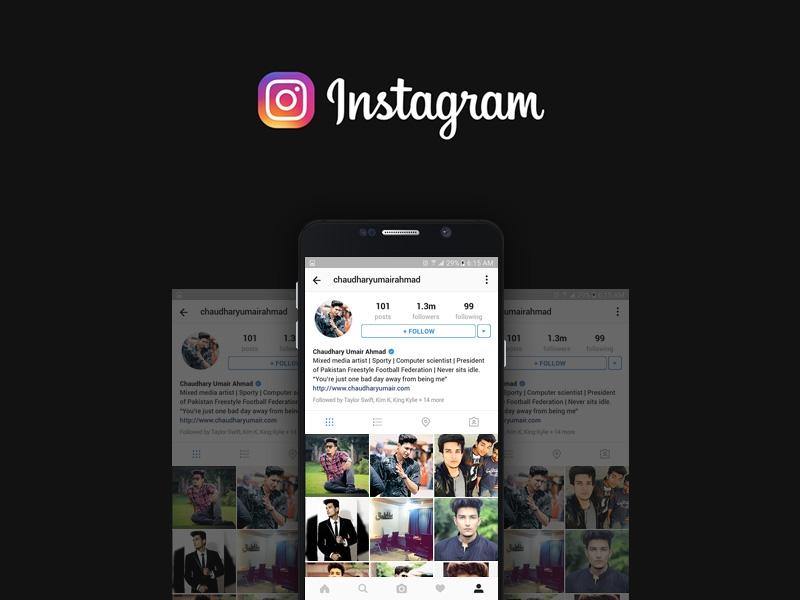 instagram profile mockup free psd template psd repo