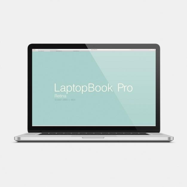 laptop mock up design psd file free download