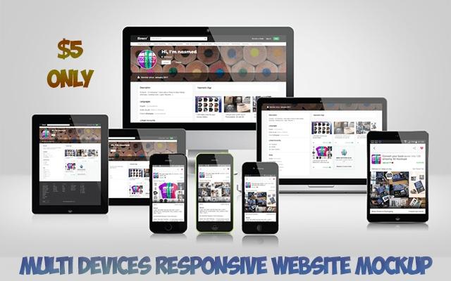 make 500 multi devices responsive website mockup nasmed