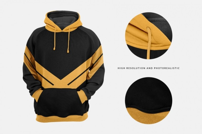 men hoodie mockup designertale