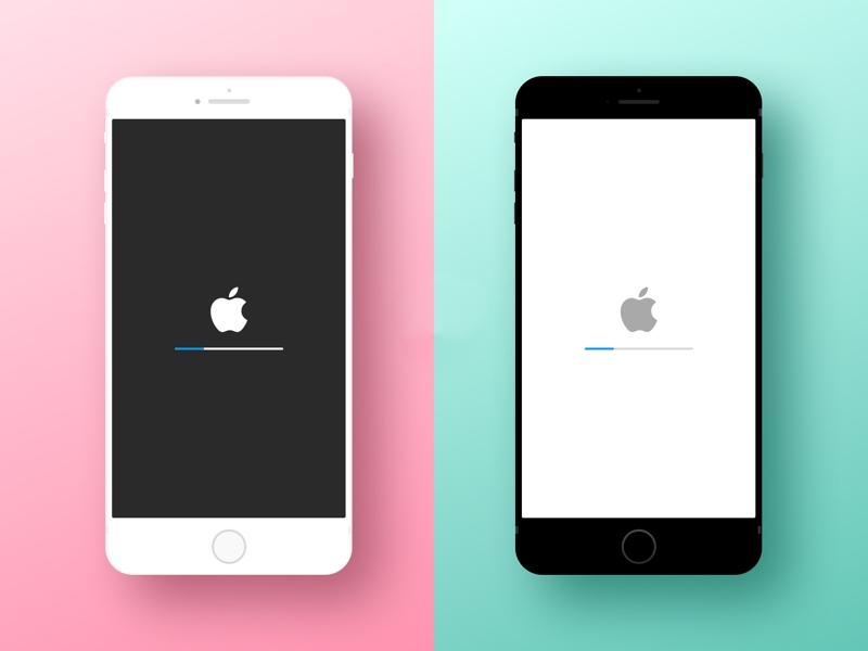 minimal iphone device mockup sketch freebie download free resource