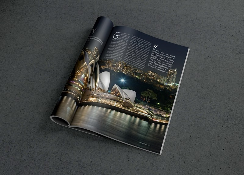 photorealistic magazine mockup 2 graphicburger