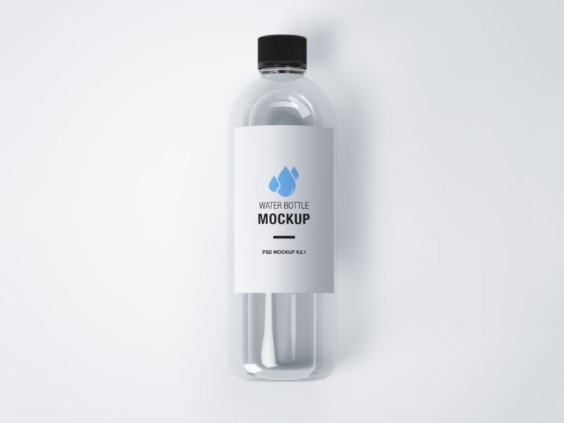 realistic water bottle mockup psd mockup graphicxtreme
