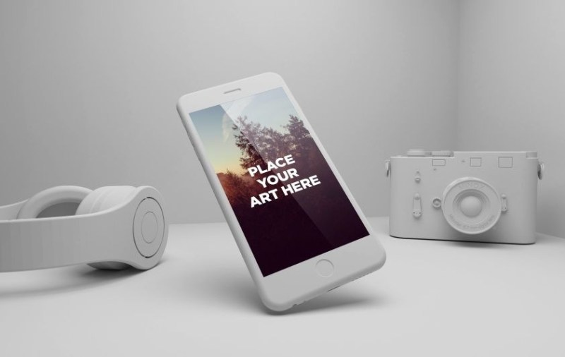 seven iphone 6 mockup templates you will actually use
