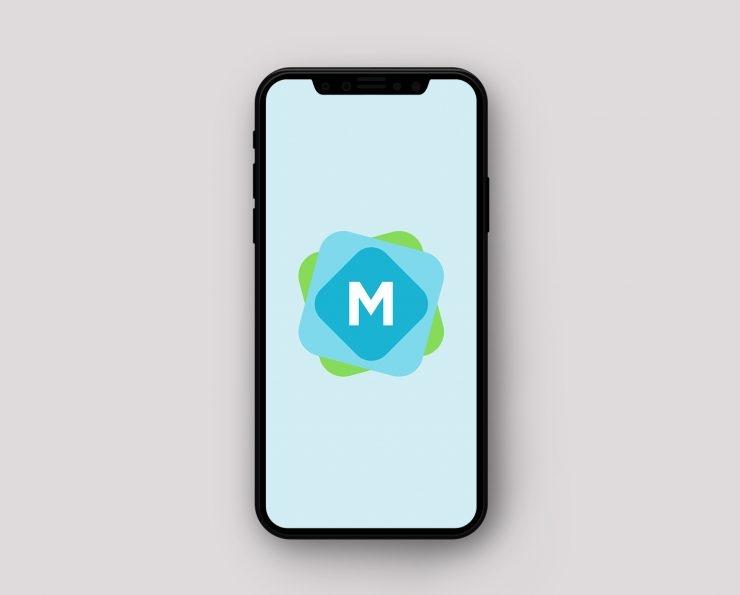 simple iphone x mockup psd mockup templates