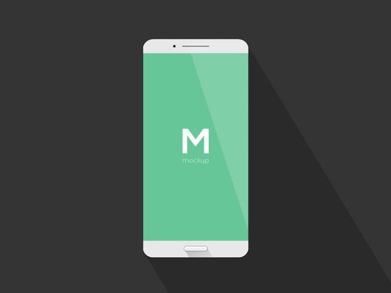 simple phone mockup free psd template psd repo