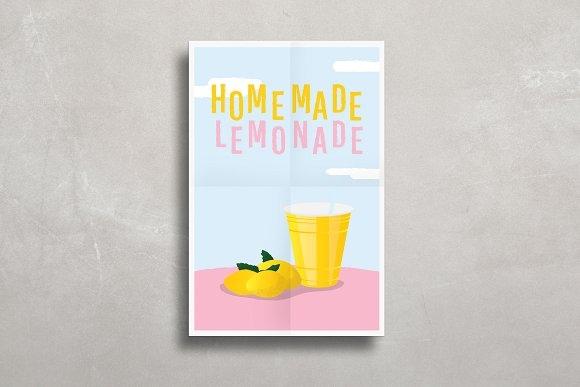 simple poster mockup mockup store