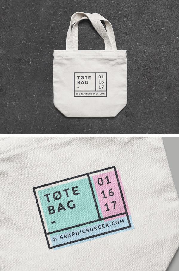 small canvas tote bag mockup graphicburger