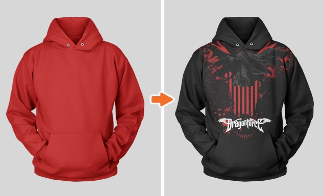 stringless pullover hoodie mockup template go media