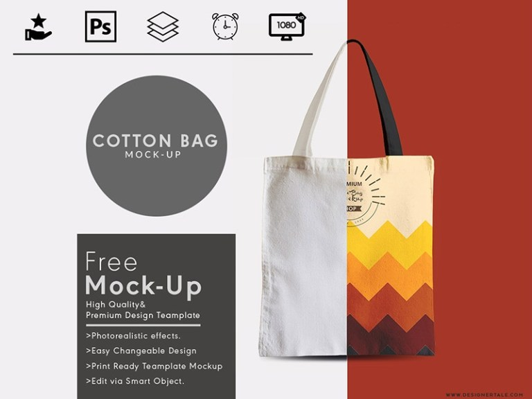 tote bag mock up free psd template designertale on dribbble