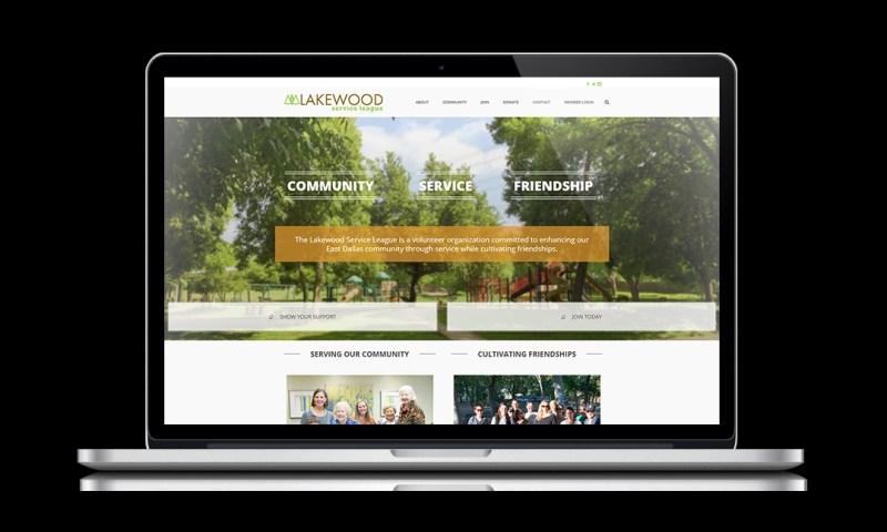 web studio portfolio laptop mockup template lakewood neoncrm