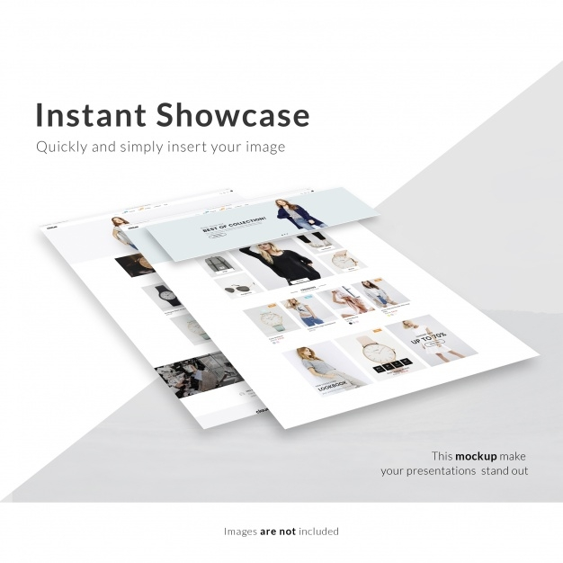 webpage mock up psd file free download