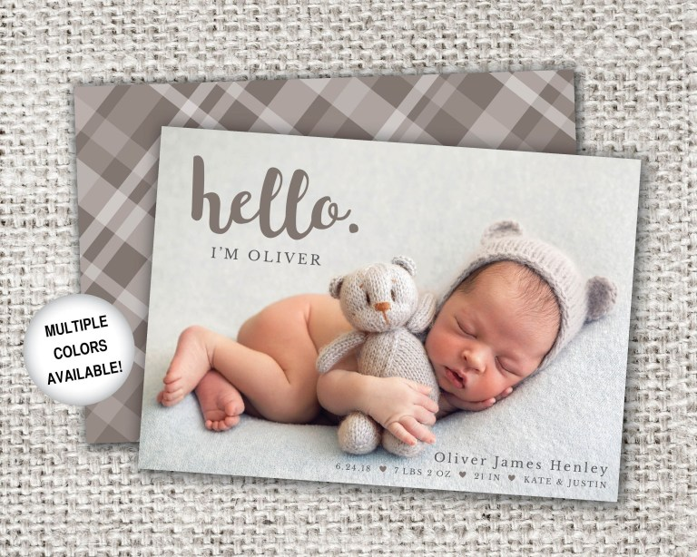 birth announcements boy birth announcement newborn