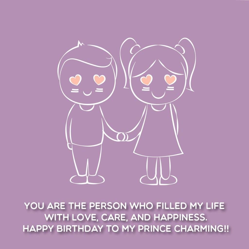 cute birthday quotes for boyfriend