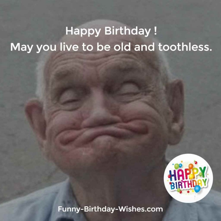 funny old birthday wishes quotes meme