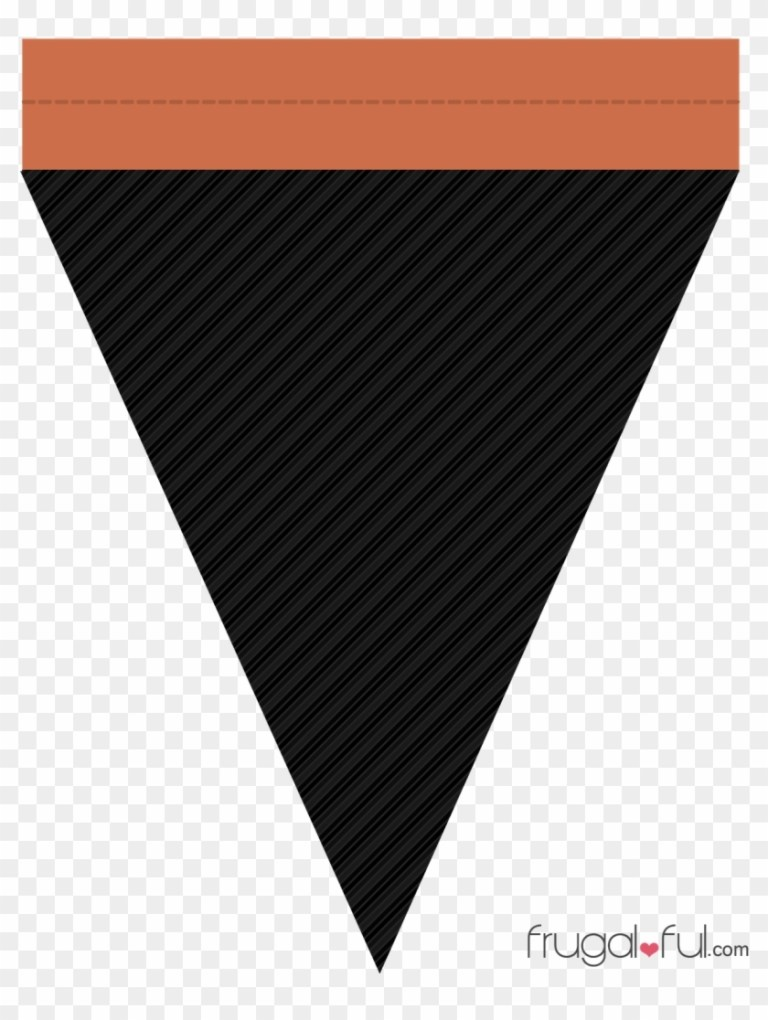 halloween triangle banner template 247869 triangle