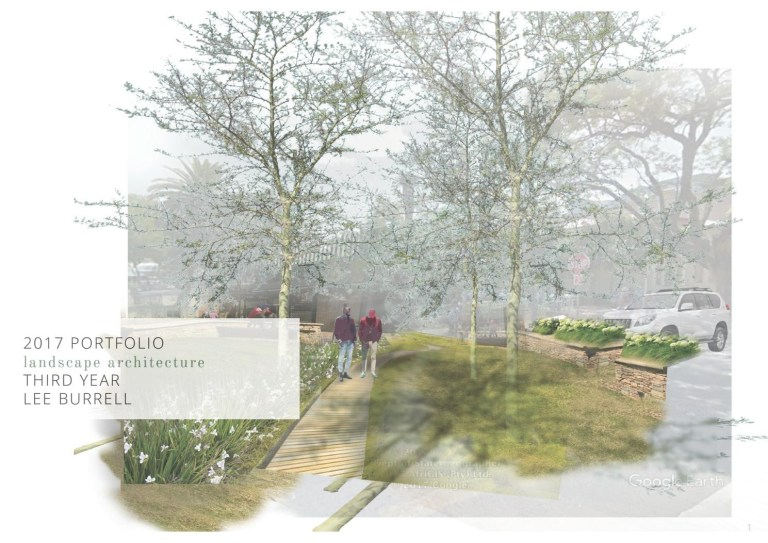 landscape architecture portfolio by lee burrell