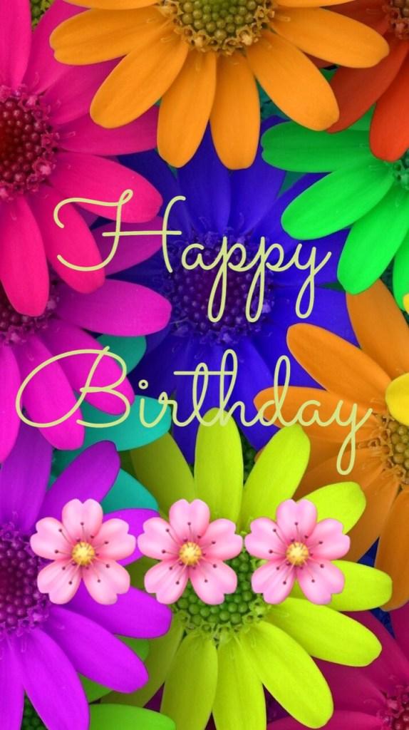 lovely colourful birthday