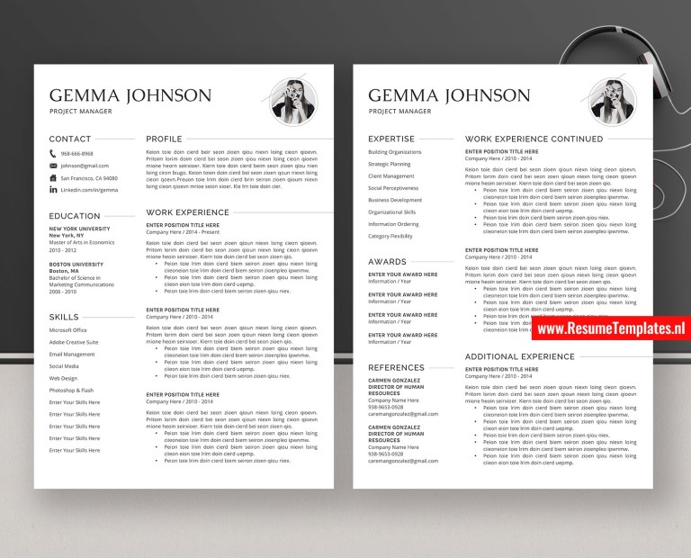 minimalist cv template resume template word simple resume editable resume professional resume design modern resume teacher resume 1 3 page