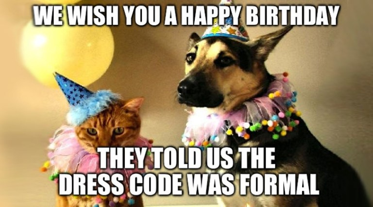 most hilarious happy birthday meme