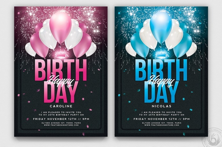 party invitation flyer templates business template ideas
