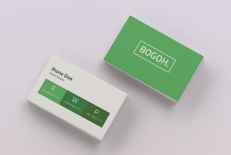 simple business card a minimal business card template