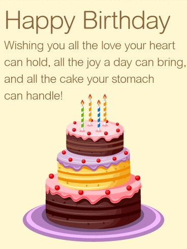wishing you all the love happy birthday wishes card
